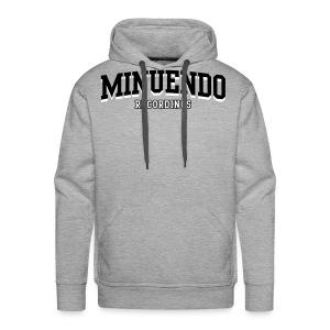 Minuendo Old School Hoodie - Men's Premium Hoodie