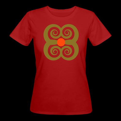 TIAN GREEN Shirts Women - Spirale des Lebens - Frauen Bio-T-Shirt