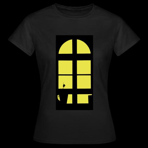 TIAN GREEN Shirts Women - Lichtfenster  - Frauen T-Shirt