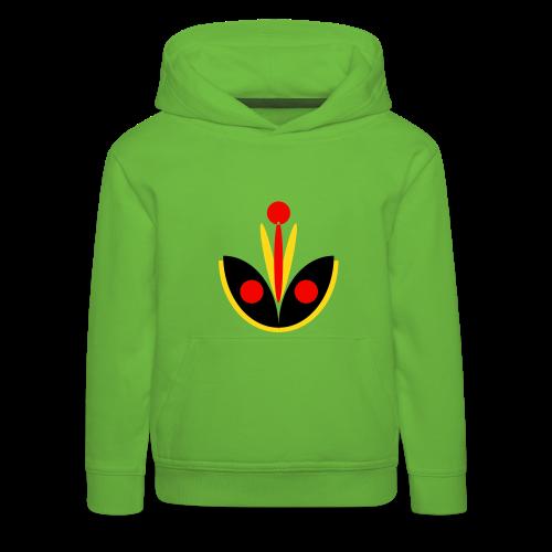 TIAN GREEN Pulli Kids - Lotus - Kinder Premium Hoodie