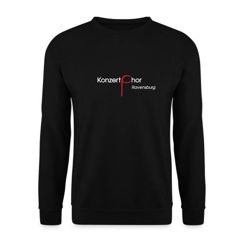 Logo-Shirt Front weiß/rot - Männer Pullover