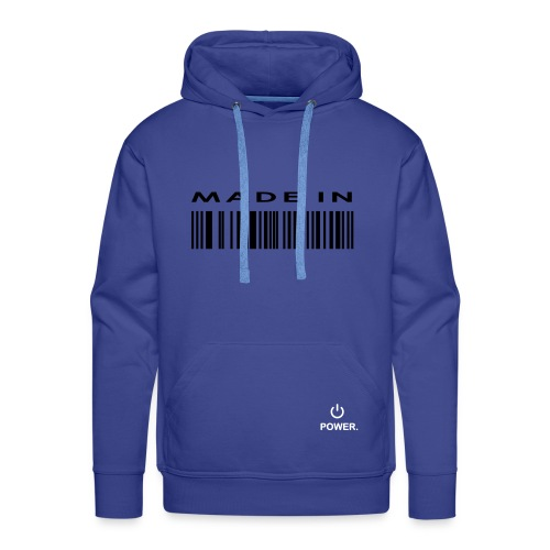 made in - Mannen Premium hoodie