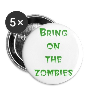 Zombies pin - Buttons large 56 mm