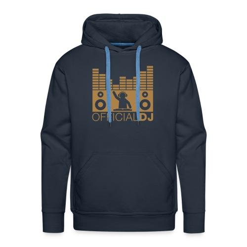 official DJ - Mannen Premium hoodie