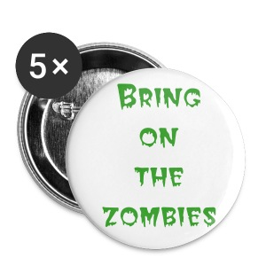 Zombies pin small - Buttons small 25 mm