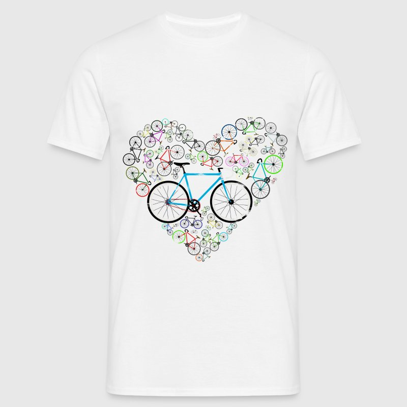I Love My Bike - Cycling T-Shirt - Men's T-Shirt