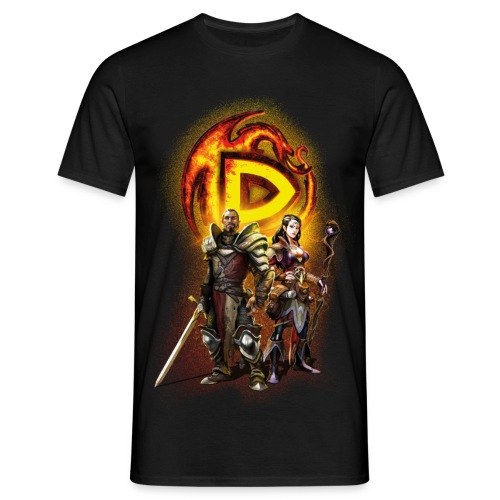 Drakensang  men's t-shirt with Hero design - Männer T-Shirt