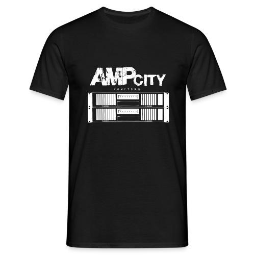 AmpCity .white - Tontechniker´s Heimstadt - Männer T-Shirt