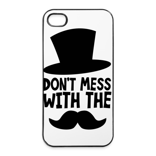 The Mustache - iPhone 4/4s Hard Case