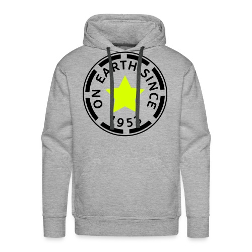 on earth since 1953 - Mannen Premium hoodie