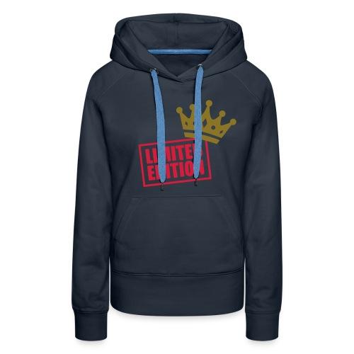 limeted edition - Vrouwen Premium hoodie