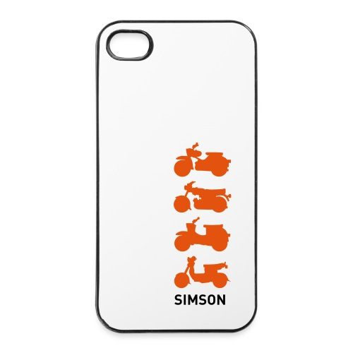 iPhone 4-Cover Mopeds - iPhone 4/4s Hard Case