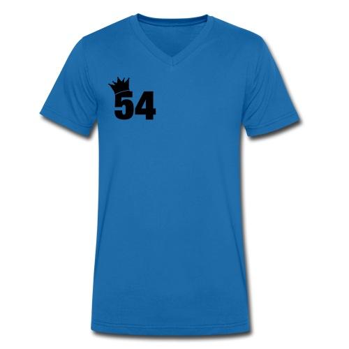Mens 54 Tshirt - Men's Organic V-Neck T-Shirt by Stanley & Stella
