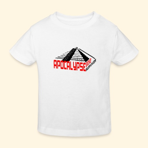 Kinder T-Shirt - Apocalypse survivor - Kinder Bio-T-Shirt