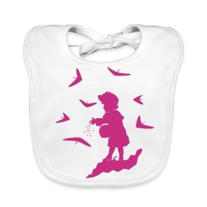 BABY pink - Baby Organic Bib