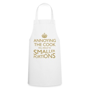 Annoying The Cook Gold Glitter Cooking Apron - Cooking Apron