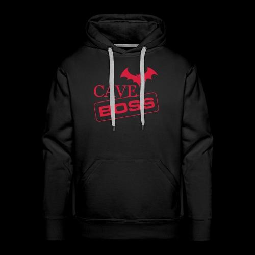 Cave Boss - Felpa con cappuccio premium da uomo