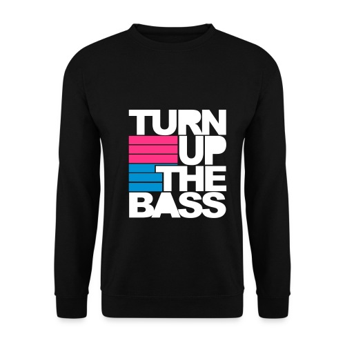 Turn up the bass - Sweater - Mannen sweater