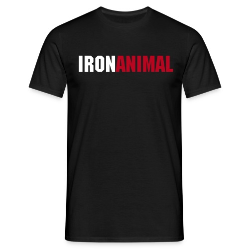 IRON ANIMAL T-shirt (Mens) - Men's T-Shirt