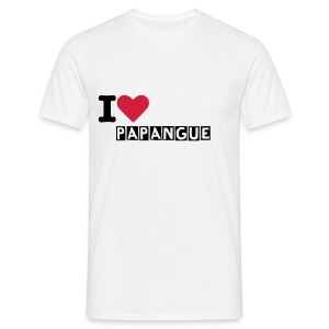 I luv papangue - T-shirt Homme