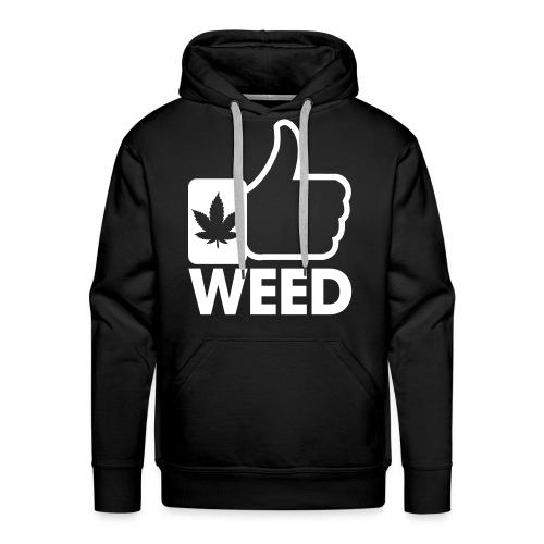 Weed Sweat Noir - Sweat-shirt à capuche Premium pour hommes