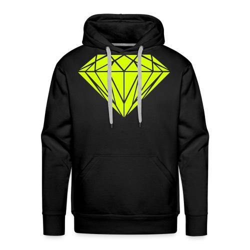 Diamant Sweat Noir - Sweat-shirt à capuche Premium pour hommes