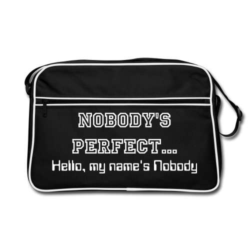 Nobody's Perfect - Retro Bag