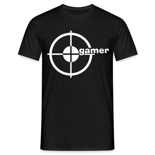 T-Shirt Gamer weiß - Männer T-Shirt