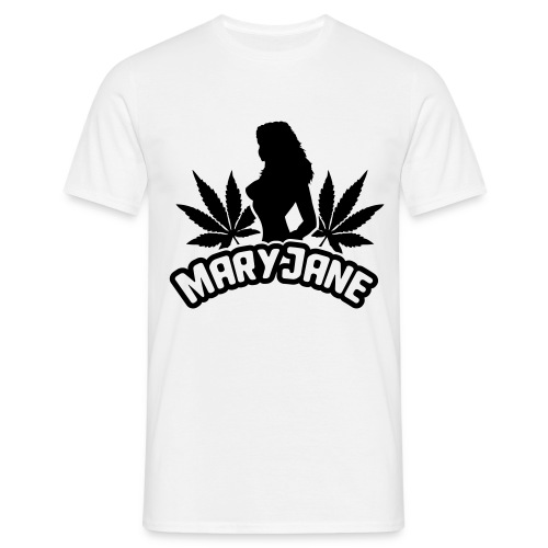 Weed T-Shirt Blanc  - T-shirt Homme