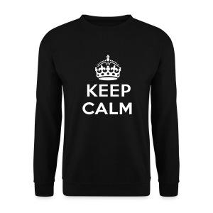 Keep Calm - Mannen sweater