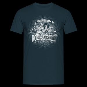 Rock'n'Roll - Sounds Like Heaven (white) - T-shirt herr