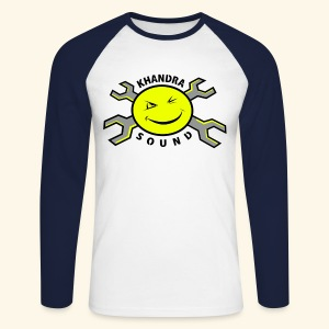 Khandra Sound Baseball Unisex T-shirt - Men's Long Sleeve Baseball T-Shirt