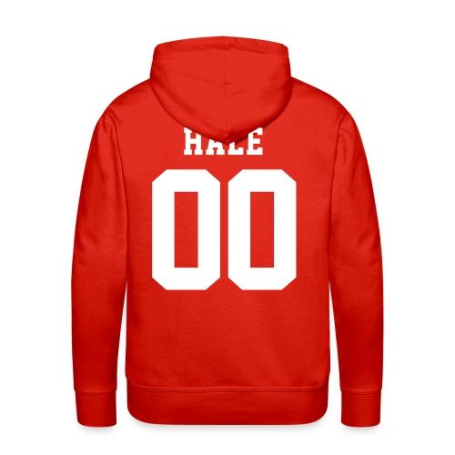 HALE 00 - Hoodie (XL Logo, NBL) - Men's Premium Hoodie