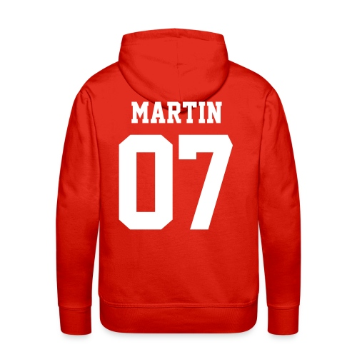 MARTIN 07 - Hoodie (XL Logo, NBL) - Men's Premium Hoodie