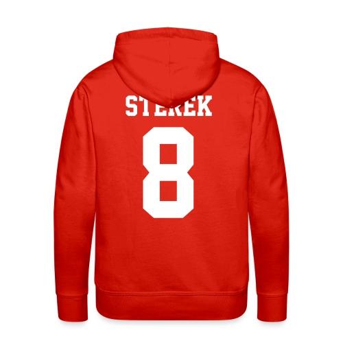 STEREK 8 - Hoodie (XL Logo, NBL) - Men's Premium Hoodie