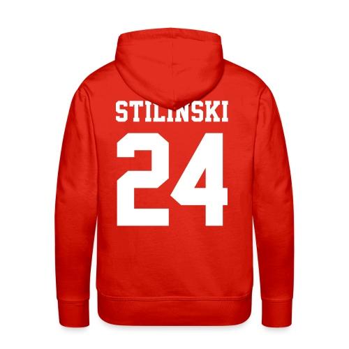 STILINSKI 24 - Hoodie (XL Logo, NBL) - Men's Premium Hoodie