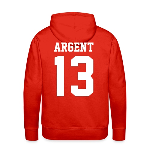 ARGENT 13 - Hoodie (XL Logo, NBL) - Men's Premium Hoodie