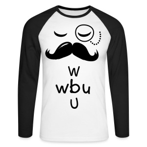 What about you - Men's Long Sleeve Baseball T-Shirt