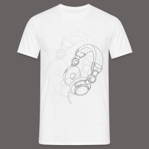 KWZ Headphone  - Männer T-Shirt
