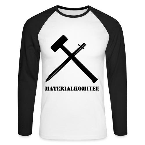 Materialkomitee - Männer Baseballshirt langarm