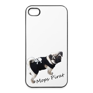 Mops Pirat iPhone 4/4S Cover - iPhone 4/4s Hard Case