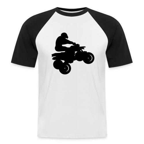 T shirt quad - T-shirt baseball manches courtes Homme