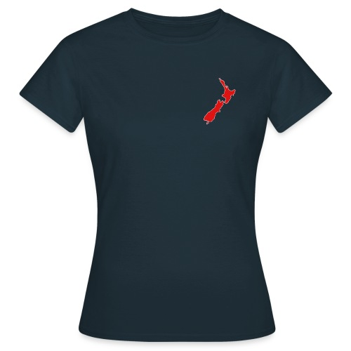 Women's NZ Map Shirt - Women's T-Shirt