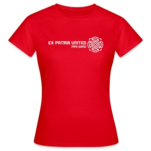 Ex Patria United Pipe Band - Girlz - Women's T-Shirt
