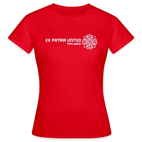 Ex Patria United Pipe Band - Girlz - Women's T-Shirt