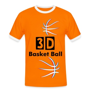3D Basket Ball - T-shirt contraste Homme