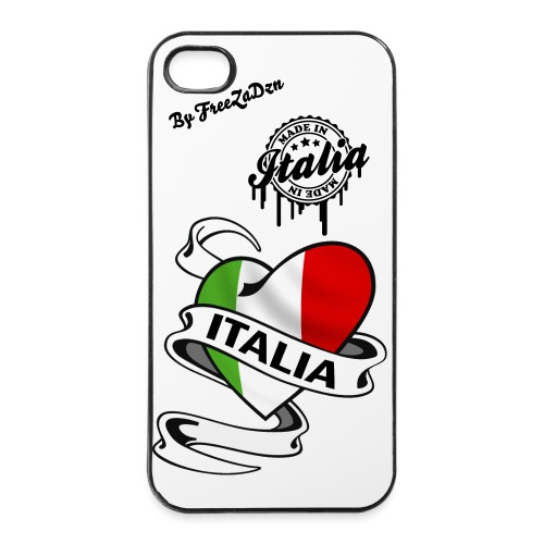 Cock Pour iPhone 4/4S Italia  by FreeZa - Coque rigide iPhone 4/4s
