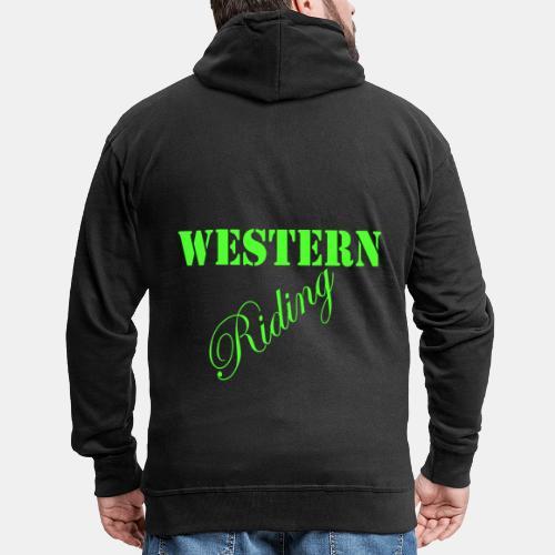 Westernriding Kapuzenjacke/Hoodie Westernreiten - Männer Premium Kapuzenjacke