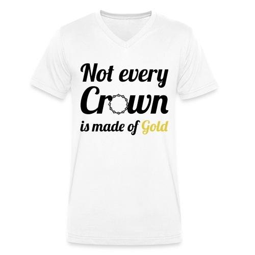 Not every Crown - Männer Bio-T-Shirt mit V-Ausschnitt von Stanley & Stella