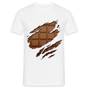 Chocolate - Mannen T-shirt